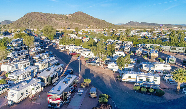 Desert's Edge RV Park in Phoenix